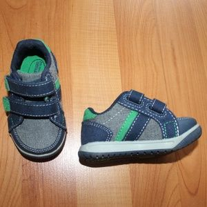 Toddler Boys Stride Rite Tanner Tweed Sneaker Sz 4